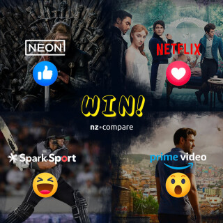 Win the Ultimate Streaming Package with NZ Compare